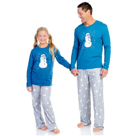 Stormtrooper Snowman Mens Brushed Jersey PJ Set