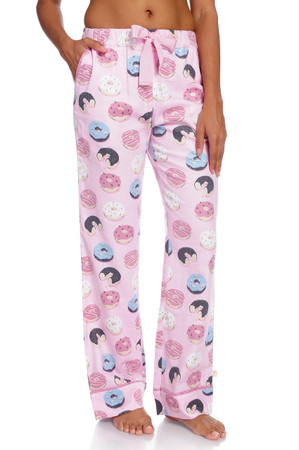 Donuts Women's Flannel Pants