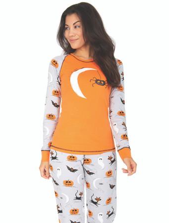 Spooky Womens Jersey Pant PJ Set