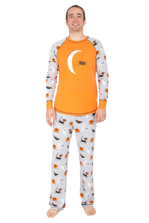 Spooky Sketchy Men's Pajama Set