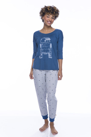 R2-D2 Sparkle Fleece Jogger PJ Set