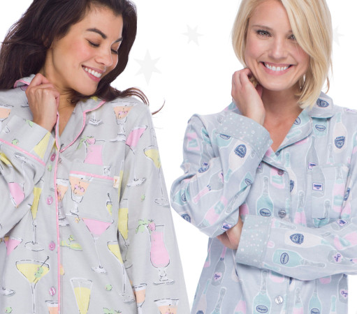 Cute Pajamas For Your NYE Slumber Party!