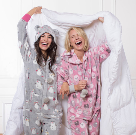 Holiday Pajama Prints and 5 Holiday Traditions that are Better in Your PJs