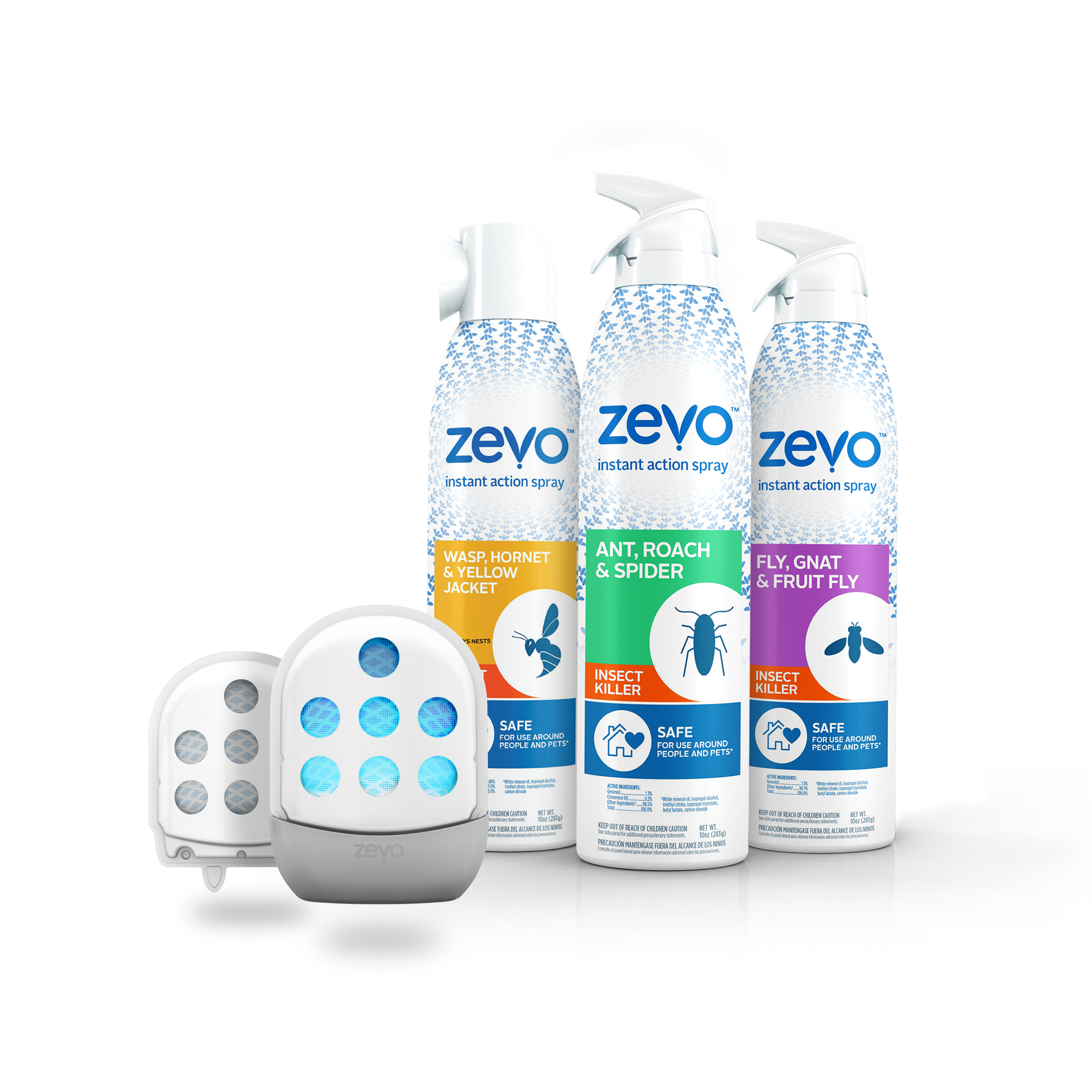 Zevo insect traps and sprays