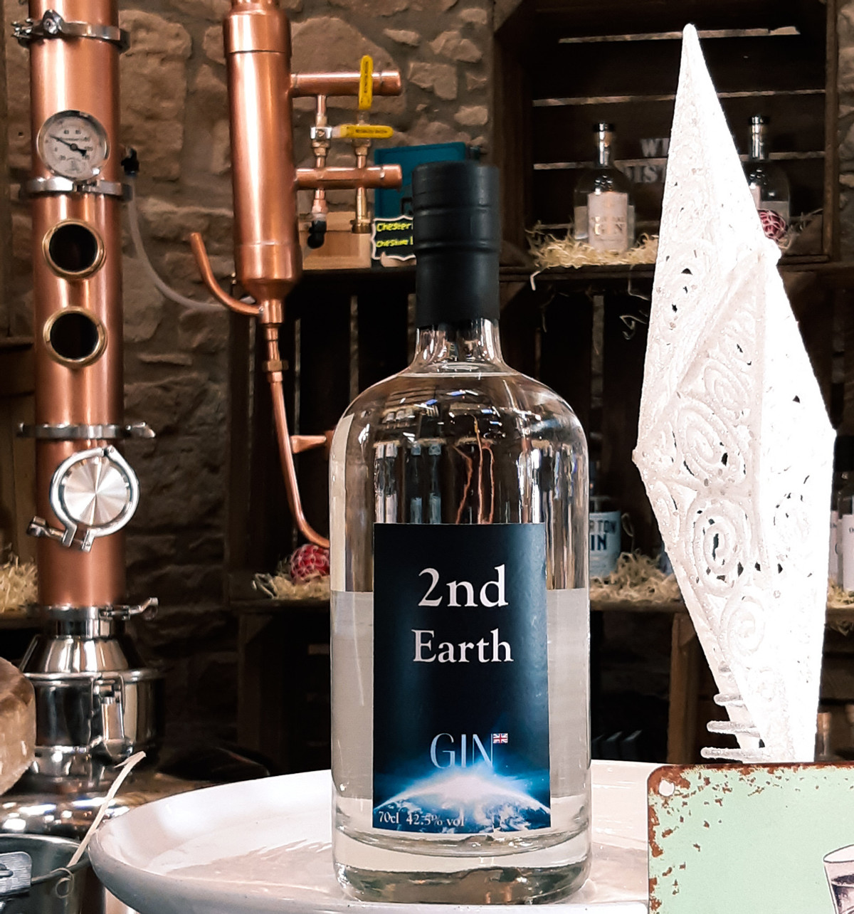 2nd Earth Gin  70cl
