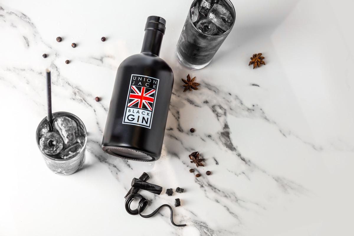 Union Black Jack Gin - 50cl