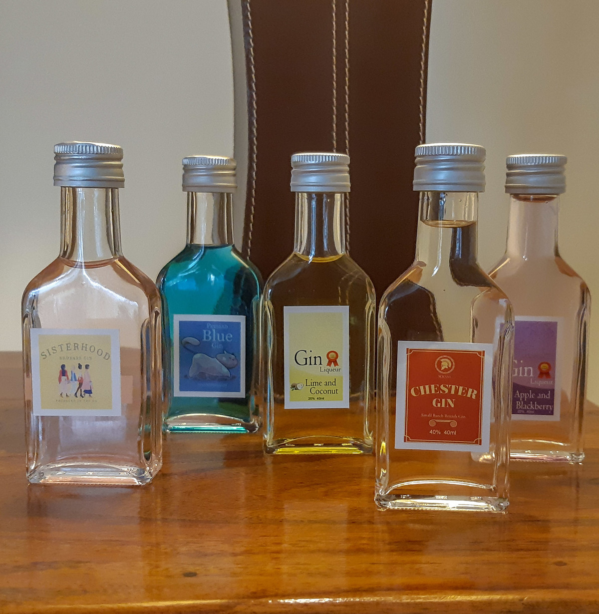 Try before you buy miniature gins