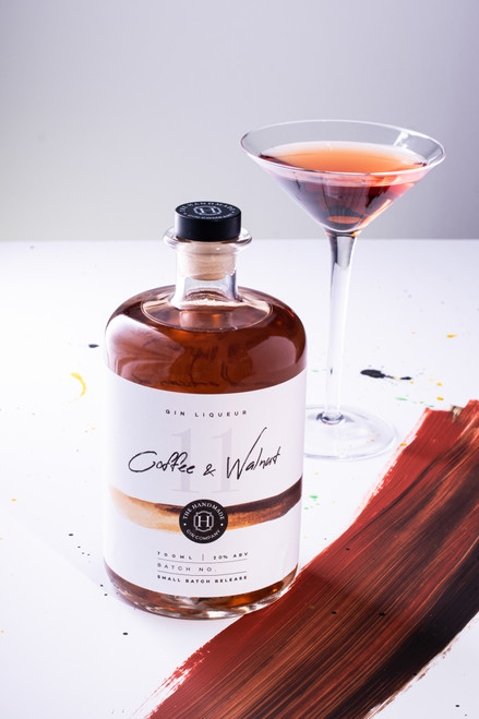 Coffee and Walnut Gin Liqueur - 70cl