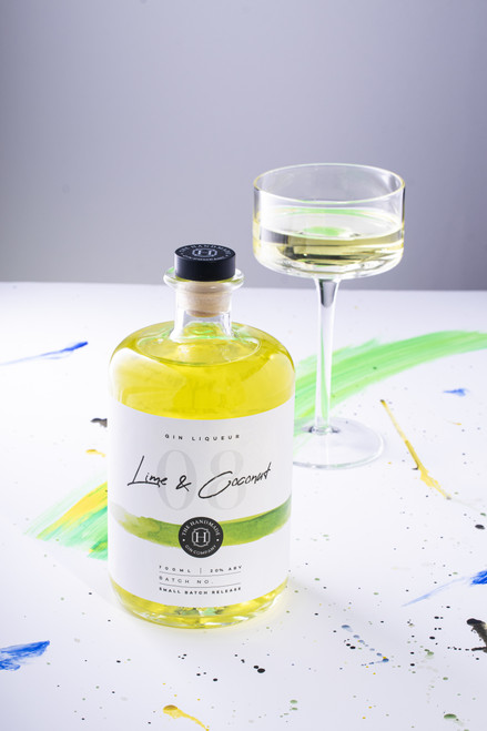 Lime and Coconut Gin Liqueur - 70cl
