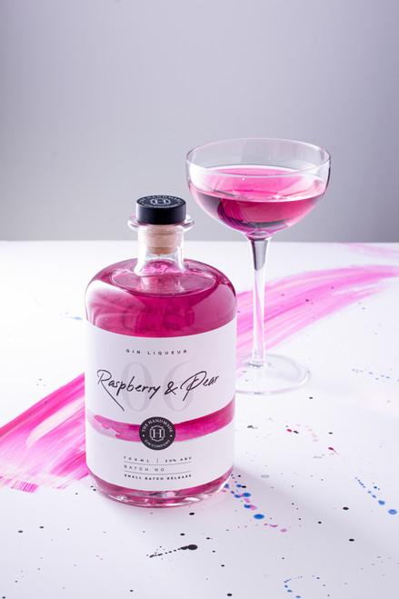 Raspberry and Pear Gin Liqueur - 70cl