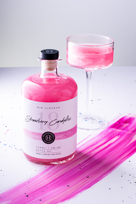 Strawberry Candy Floss Gin Liqueur - 70cl
