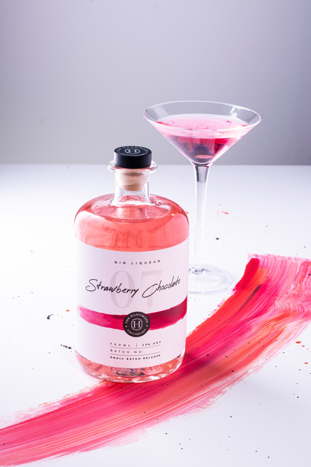 Strawberry Chocolate Gin Liqueur - 70cl