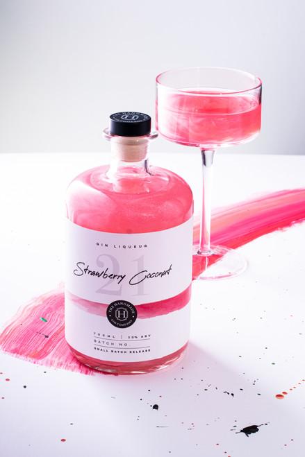 Strawberry Coconut Gin Liqueur-70cl