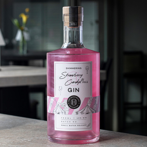 Shimmering Strawberry Candyfloss Gin - 70cl