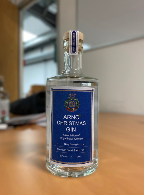 ARNO Christmas Edition Gin - Association of Royal Navy Officers