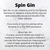Spin Gin - 50cl