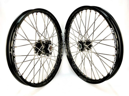 MX grade race ready fully built wheels to suit Sur-ron available in 16, 18 and 21 inch, sold separately and in sets