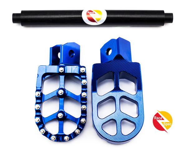 Race Spec ultimate foot rest and brace bundle