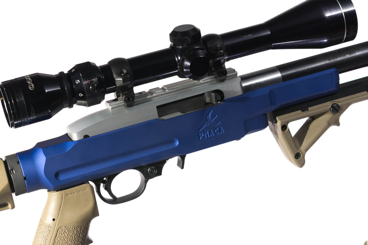 PMACA 10/22 Standard Chassis - Blue Anodize