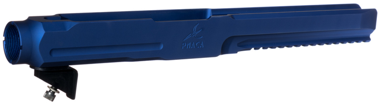 PMACA Blue Anodize Long Nose Chassis - Upgrade your Ruger 10/22