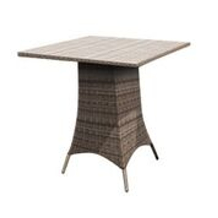 """Forever Patio Cypress 36"""" Square Bar Height Table"""