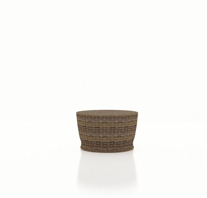 Forever Patio Cypress Wicker Round Chat Table