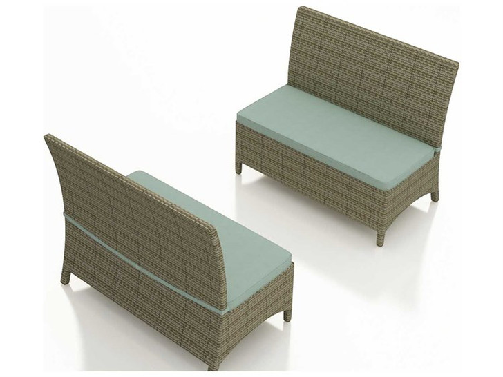 Replacement Cushions for Forever Patio Hampton Dining Love Seat Bench