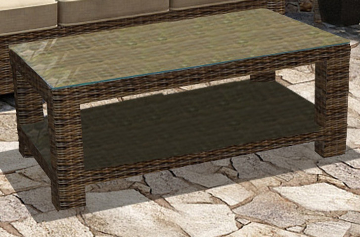 Forever Patio Cypress Rectangle Coffee Table