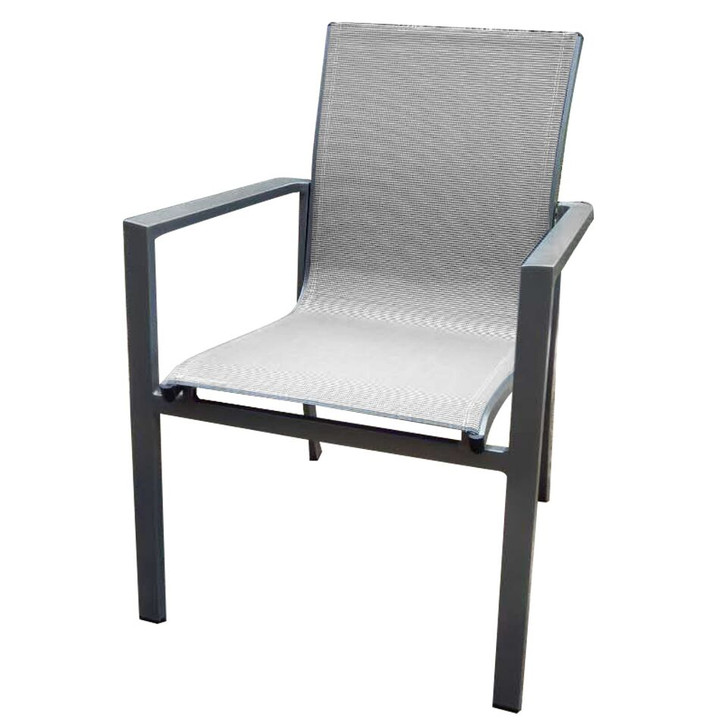 Forever Patio Spirit Sling Dining Arm Chair