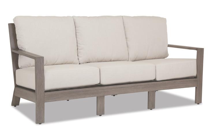 Laguna Sofa with cushions in Canvas Flax