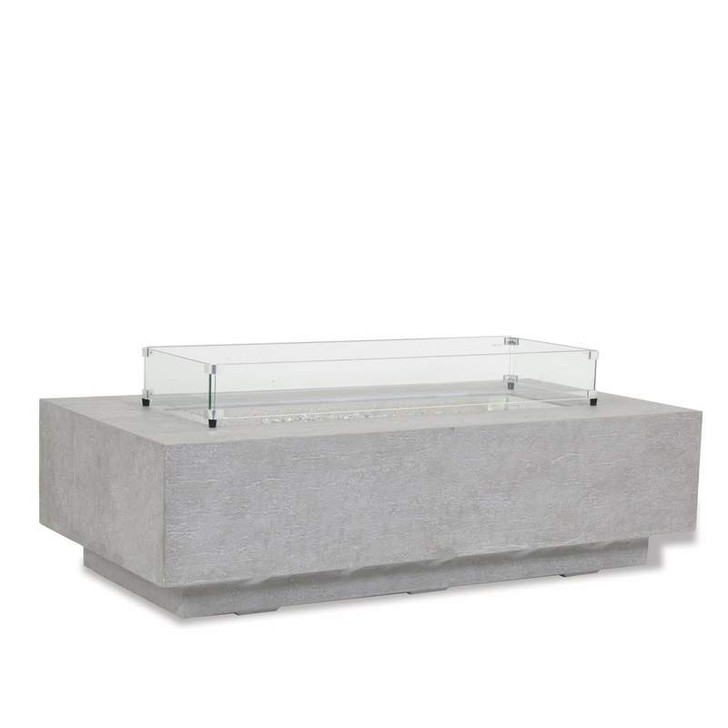 Fire Table Glass Surround