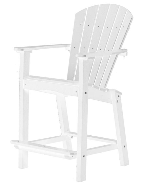 "Wildridge Classic Poly-Lumber 30"" High Dining Chair"