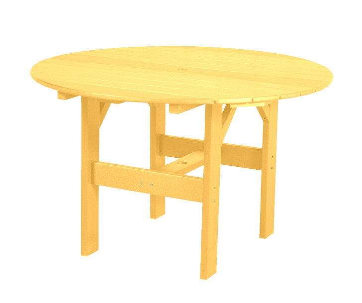 "Wildridge Classic Poly-Lumber 46"" Round Dining Table"