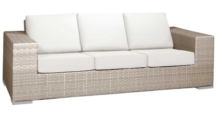 Hospitality Rattan Rubix Sofa with Cushion