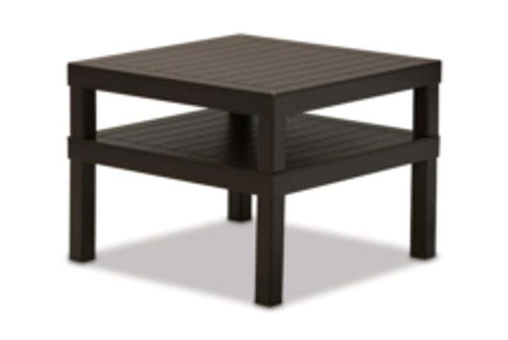 "Telescope Casual Ashbee 28.5"" Square MGP Corner Table"