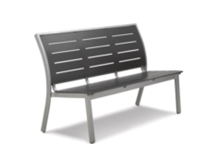 """Telescope Casual Bazza MGP Bench Collection 56"""" Armless Stacking Bench"""