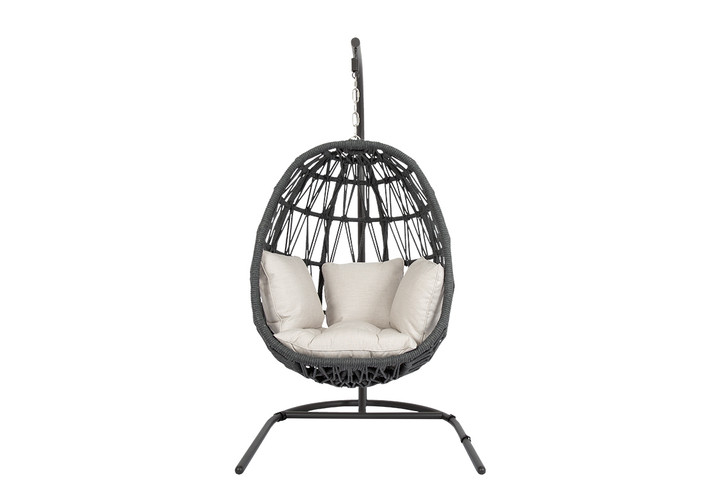 Milano Hanging Chair with cushions
