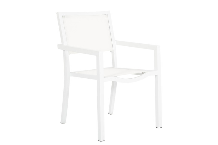 Naples Stackable Sling Dining Chair