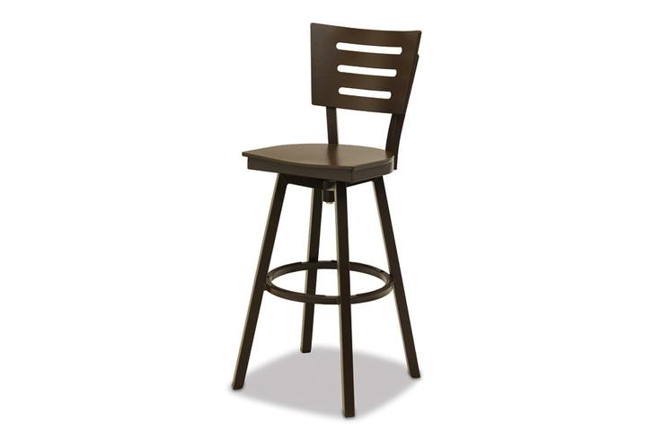 Telescope Casual Avant Bar Height Armless Swivel Chair