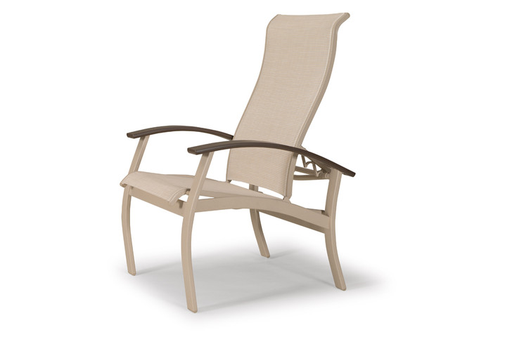 Telescope Casual Belle Isle Sling Multi-Position Dining Chair