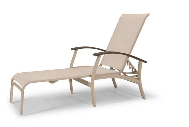 Telescope Casual Belle Isle Sling Four Position Lay-Flat Chaise