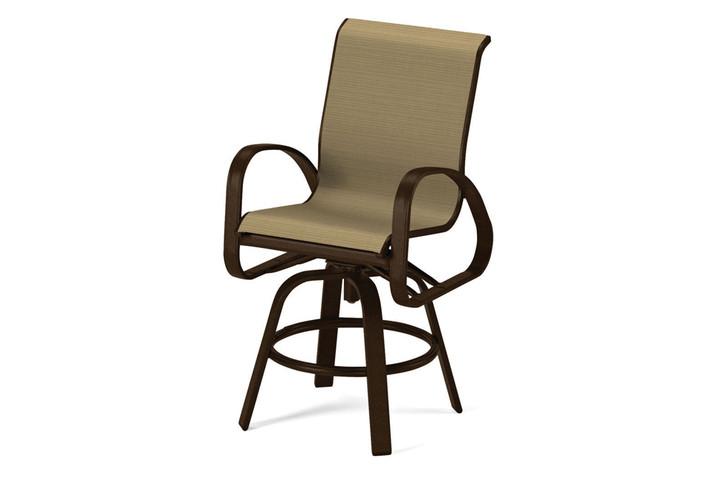 Telescope Casual Primera Sling Balcony Height Swivel Arm Chair