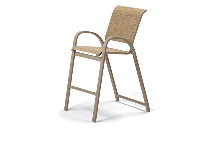 Telescope Casual Aruba II Sling Bar Height Stacking Cafe Chair