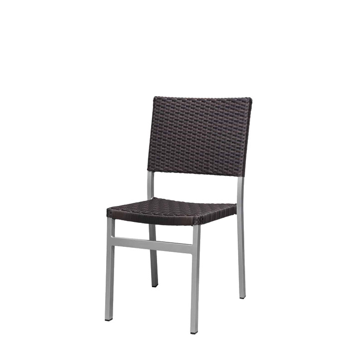 Source Furniture Fiji Dining Side Armless Chair - Espresso