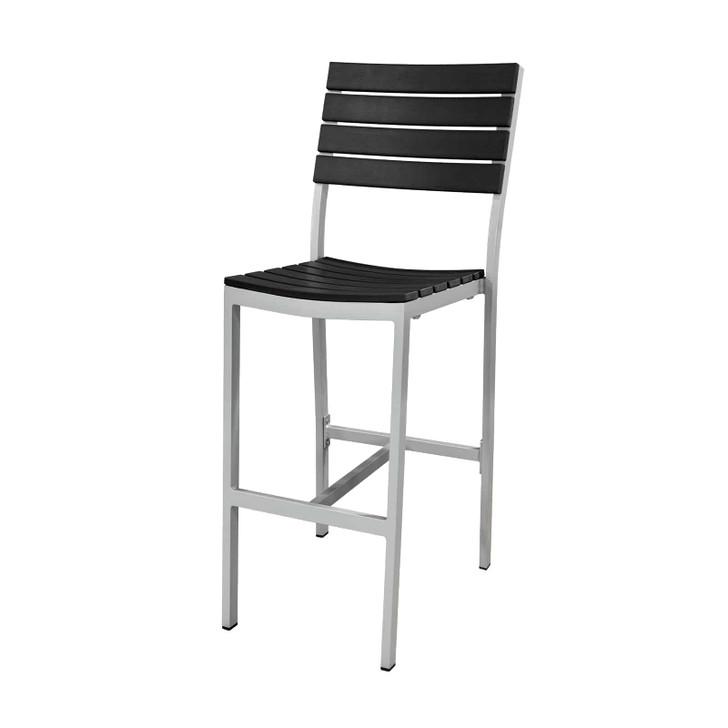 Source Furniture Vienna Bar Side Chair - Black