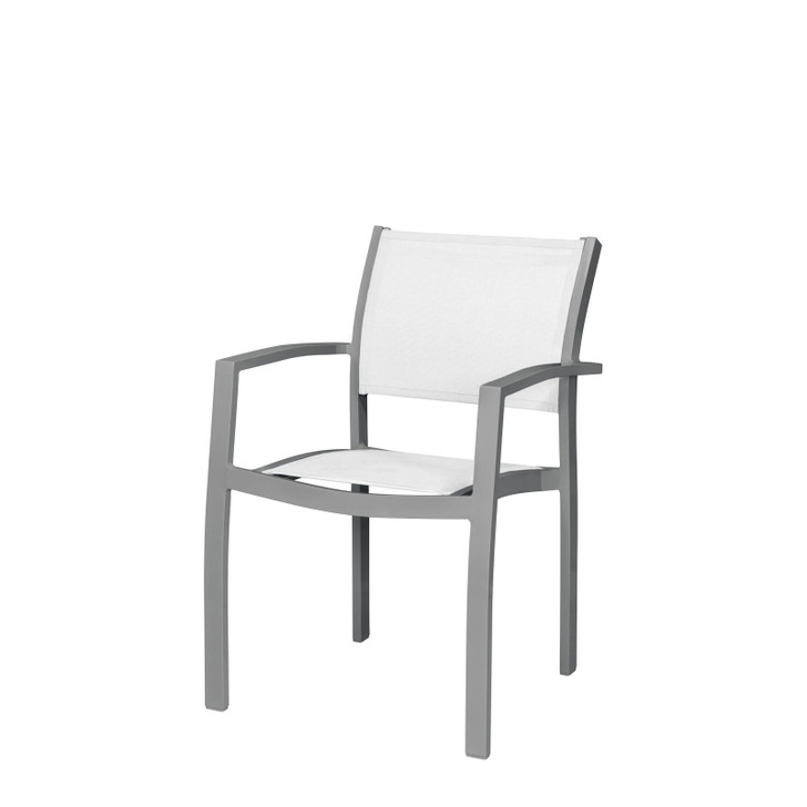 Source Furniture Fusion Dining Arm Chair - Quarter View