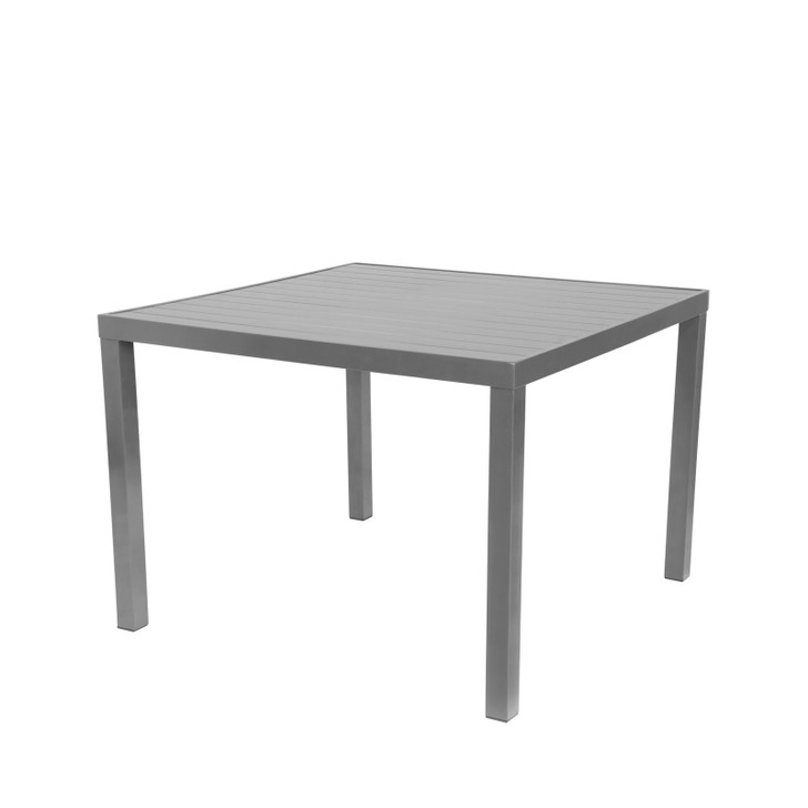 Source Furniture Fusion Square Table Top - Fusion Legs Attached