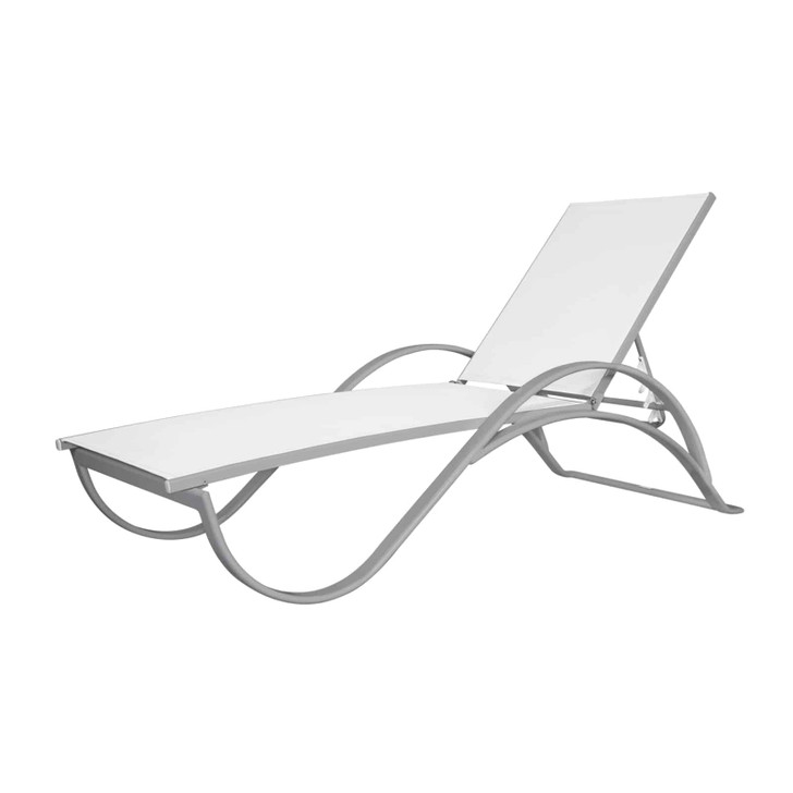 Source Furniture Atlantic Sled Chaise With Arms