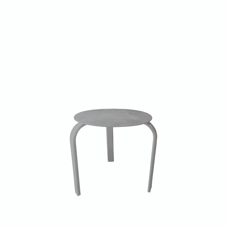 Source Furniture Atlantic Side Table Solid Aluminum Top