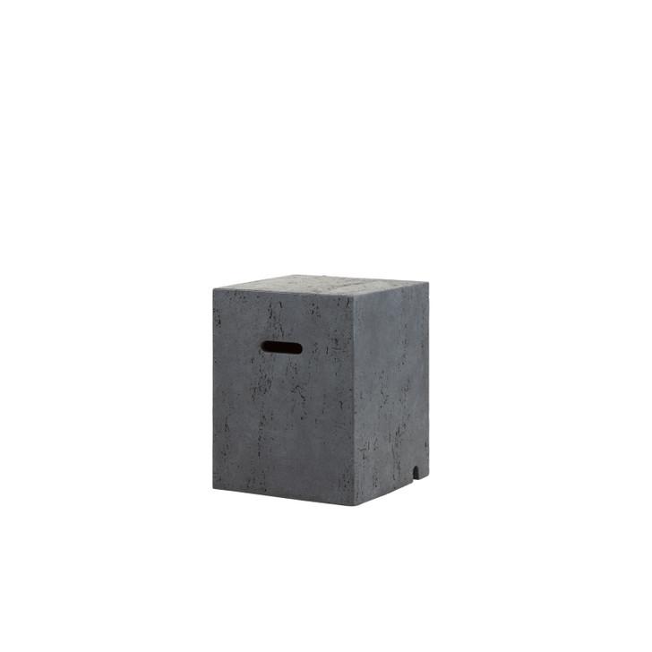 Elements Concrete Fire Pit Gas Tank Cover (Square)